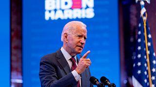 المرشح الديموقراطي للرئاسة الأمريكية جو بايدن