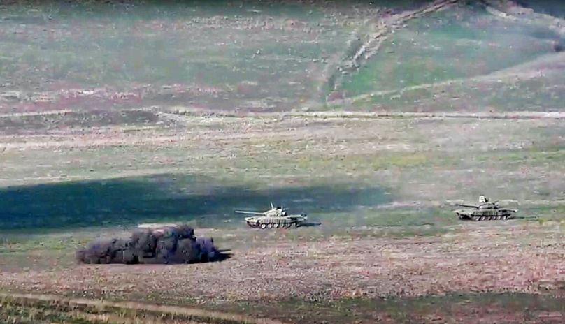 AP/Örmény védelmi minisztérium