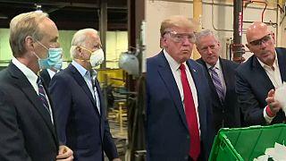 La pandemia zanjó el duelo Trump-Biden