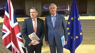 """Settimana decisiva per la """"Brexit commerciale"""": incontri Frost-Barnier e Gove-Šefčovič"""