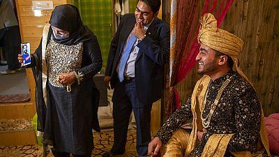 The coronavirus pandemic has changed the way people celebrate weddings in Kashmir