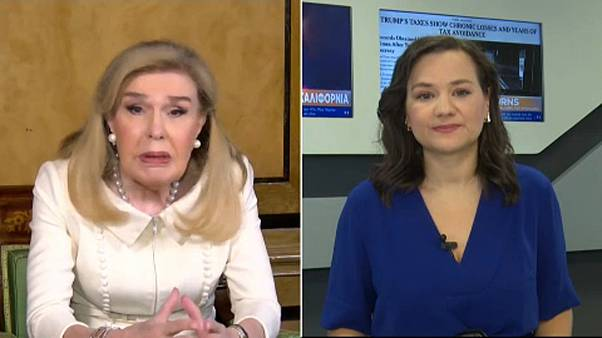 Η Μ. Βαρδινογιάννη στο euronews