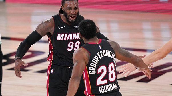 Los Miami Heat lucharán por el anillo de la NBA con Los Angeles Lakers