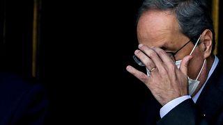 Главу Каталонии лишили должности