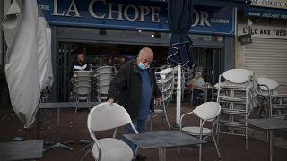 Un restaurateur marseillais ferme son établissement, dimanche 27 septembre 2020