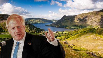 Boris Johnson has pledged to safeguard 30% of British land by 2030.