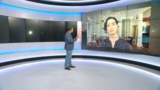 Clara Sousa-Silva em entrevista