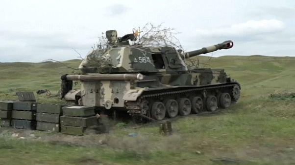 Batteria semovente esercito armeno