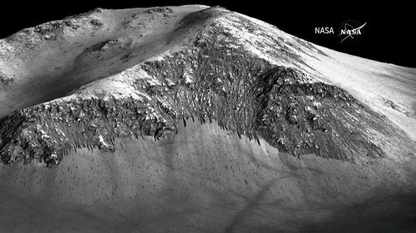 Соленые озера Марса