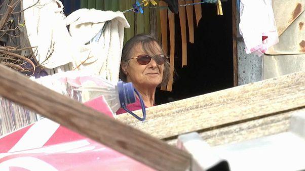 Matilde Cunha é um rostos do abandono na Quinta do Ferro