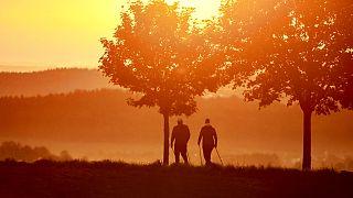Sonnenaufgang in Offingen