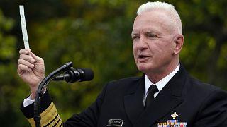 l'Amiral Brett Giroir, secrétaire adjoint à la Santé des Etats-Unis, le 28 septembre 2020 à Washington