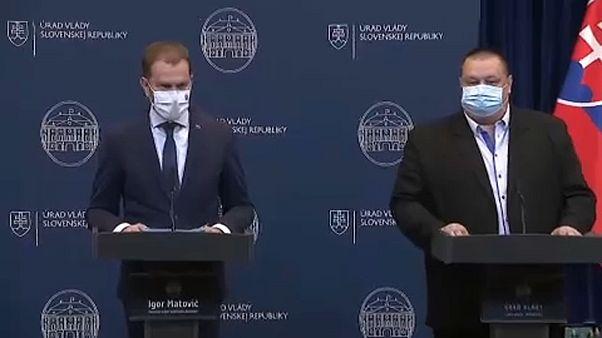 Igor Matovic sajtótájékoztatót tart