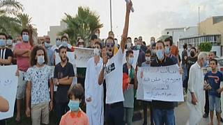 Libyans Protest Armed Militias in Tajoura City