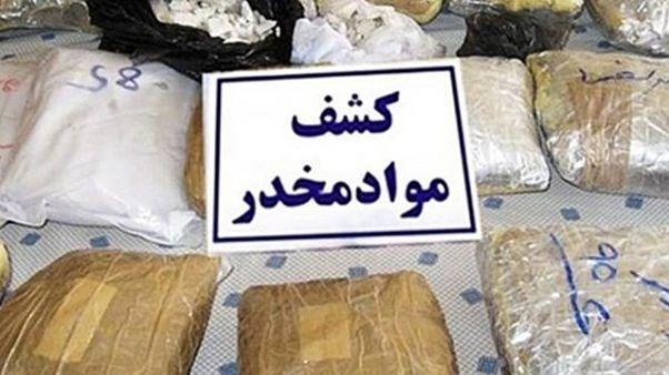 کشف مواد مخدر در ایران