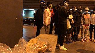 В Риме живёт бездомный, но свободный мигрант из Африки