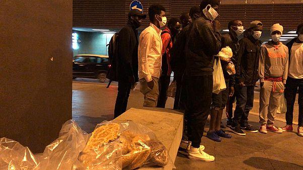 Les migrants livrés à eux-mêmes à Rome