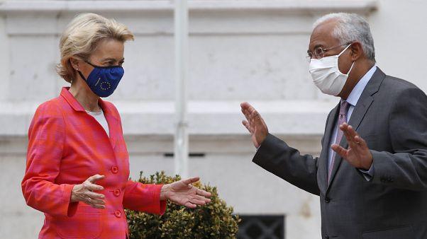 Η Πρόεδρος της Κομισιόν και ο Πρωθυπουργός της Πορτογαλίας