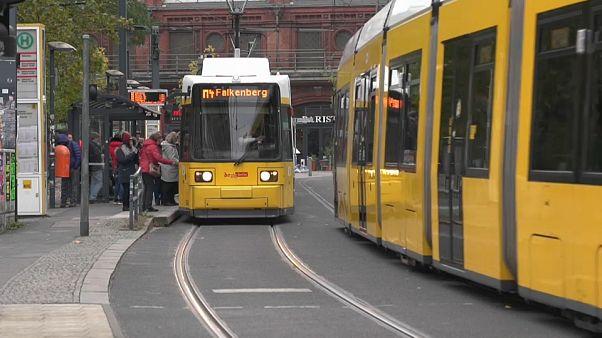 Перебои в движении общественного транспорта в Германии
