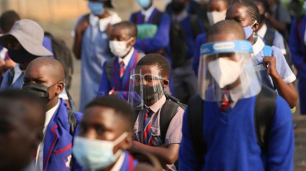 Zimbabve'de bir okul