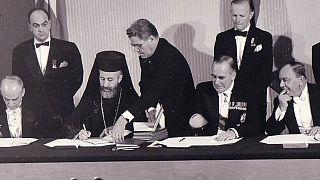 Από την υπογραφή της Συνθήκης της Ζυρίχης με την οποία ιδρύθηκε η Κυπριακή Δημοκρατία