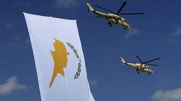 Cyprus parade