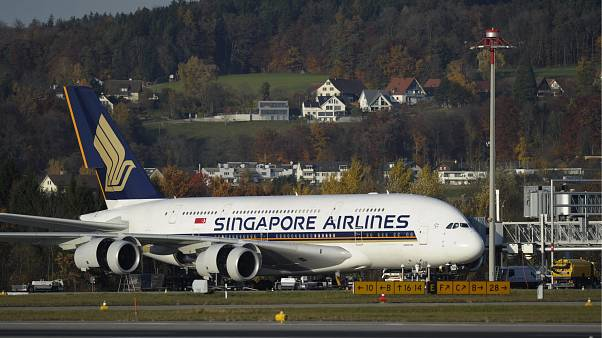 Archive Photo: Singapore Airlines Airbus 380