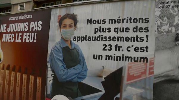 """Il salario """"minimo"""" di Ginevra supera i quattromila euro al mese"""