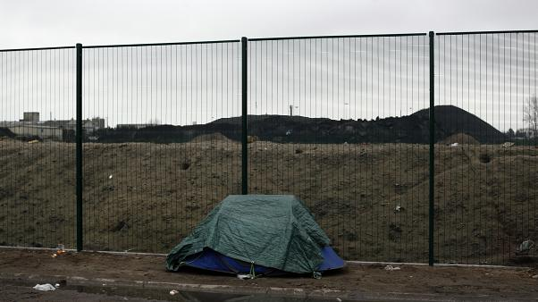 Tente de migrants près de Calais - Photo d'archives
