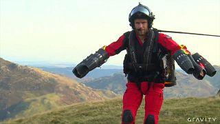 """Sanitäter der Bergwacht bald in """"Iron Man""""-Jet-Anzügen?"""