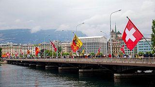 شهر ژنو در غرب سوئیس