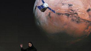 """سارة الأميري، نائبة مدير مشروع بعثة الإمارات العربية المتحدة إلى المريخ، تتحدث عن مشروع  """"الأمل"""""""