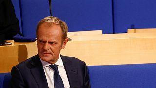 Donald Tusk, az EPP elnöke