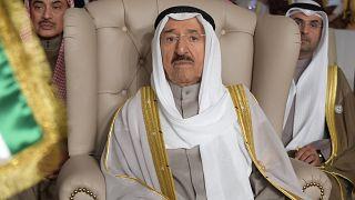 Ο εμίρης του Κουβέιτ, σεΐχης Σαμπάχ αλ-Άχμαντ αλ-Σαμπάχ