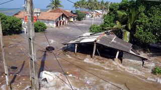 Dec. 26, 2004. - Maddampegama, about 60 kilometers south of Colombo, Sri Lanka