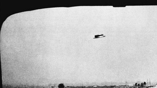 عکسی که تصور میشود از یک بشقاب پرنده در آمریکا گرفته شده است