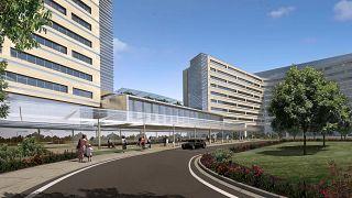 Etlik Şehir Hastanesi maketi