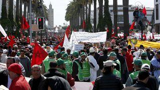 مسيرة بشأن الصحراء الغربية