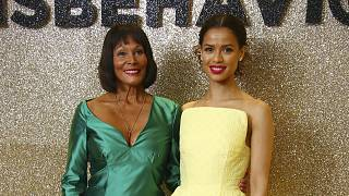 Gugu Mbatha-Raw Talks 'Misbehaviour'