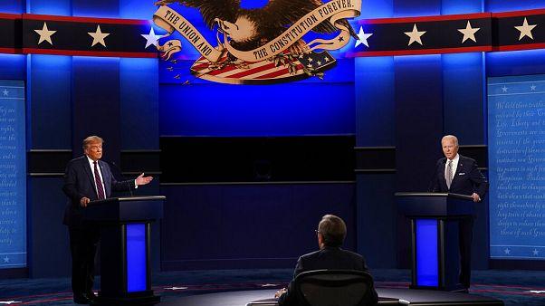 Trump e Biden trocam acusações e insultos