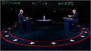 من المناظرة الرئاسية الأولى