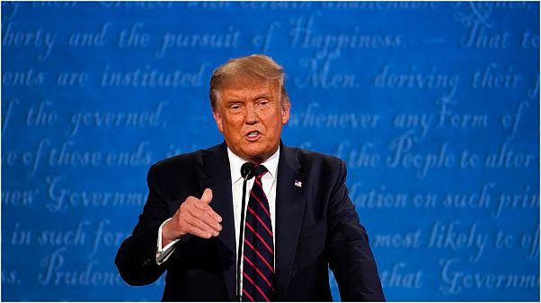 صورة لترامب من المناظرة التلفزيونية