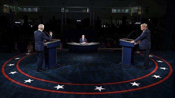 نخستین مناظره انتخابات ریاست جمهوری ۲۰۲۰ آمریکا