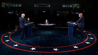 Donald Trump ile Joe Biden canlı yayın tartışması