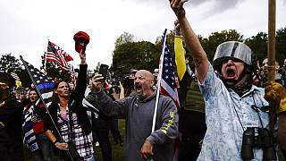 "Protest der ""Proud Boys"" in Portland"