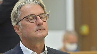 Rupert Stadler durante la prima udienza.