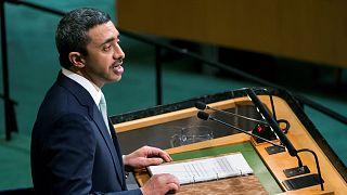 وزير الخارجية الإمارتي عبدالله بن زايد آل نهيان