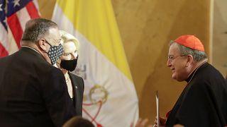 وصل بومبيو إلى الفاتيكان أمس الثلاثاء