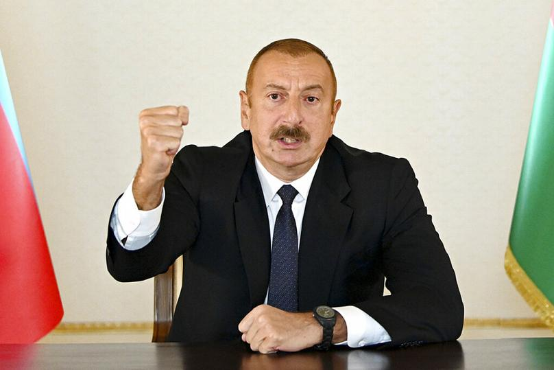 AP/Azerbaijan's Presidential Press Office