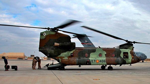 بالگرد نظامیان آمریکایی در عراق